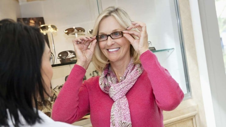 Fashionable Glasses for Older Women