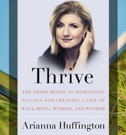 Thrive Book Ariana Huffington