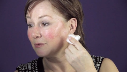 Makeup for Rosacea that Takes the Redness Away (Video)