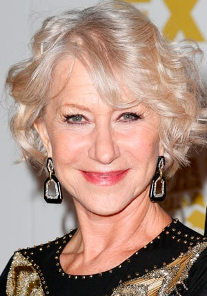 Hairstyles for Older Women - Hellen Mirren