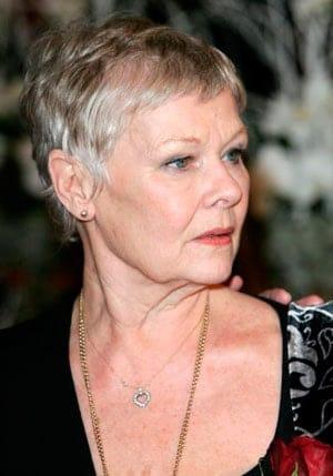 Hairstyles-for-Older-Women---Judi-Dench