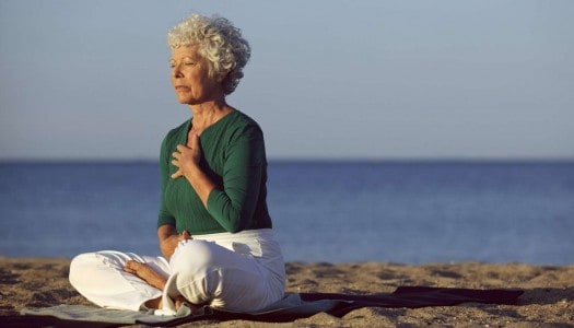 Easy Yoga Breathing for Seniors