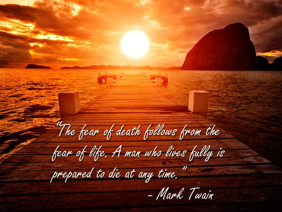 Life After Death Mark Twain - End of Life Planning