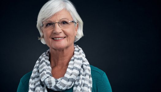 Wearing Scarves is a Fun Part of Fashion for Women Over 60