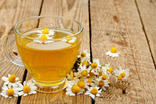 Trouble-sleeping---camomile-tea