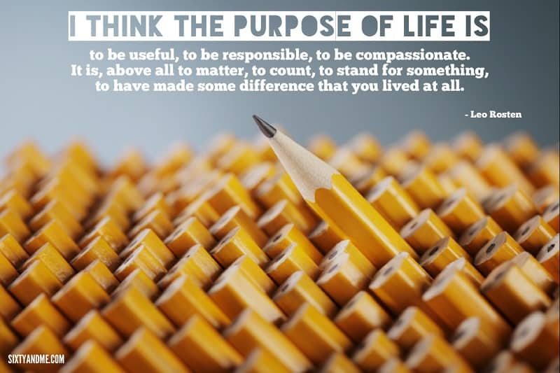 Leo Rosten - I think the purpose of life is to be useful