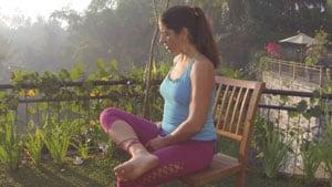 Chair Yoga for Seniors Joints Demonstration
