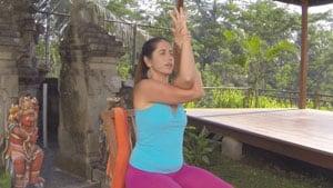 Chair Yoga for Seniors Demonstration
