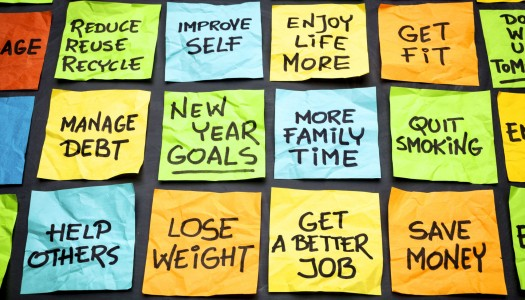New Year's Resolutions – Building on the Past and Making Positive Plans for the Future