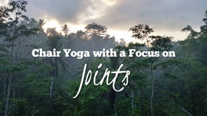 Chair yoga for seniors - joints