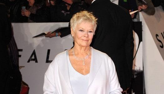 """Judi Dench Says, """"Goodbye Mr. Bond"""""""