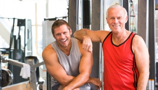 Fitness After 60 May Lower Cancer Risk for Older Men, Study Says