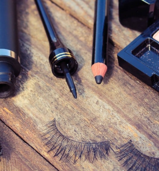When it Comes to Makeup for Older Women, Blue is the New Black