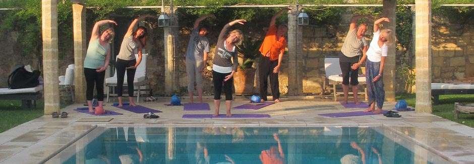 pilates yoga older women fitness over 60 - 1