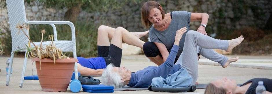 pilates yoga older women fitness over 60 - 2