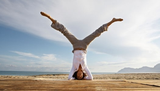 Turning Yourself Upside Down to Find Balance After 60