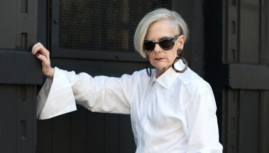"A ""White Shirt"" is the Key to Fashion for Women Over 60 (Video)"