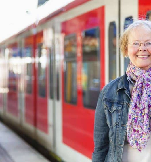 Train Journeys for Older Women