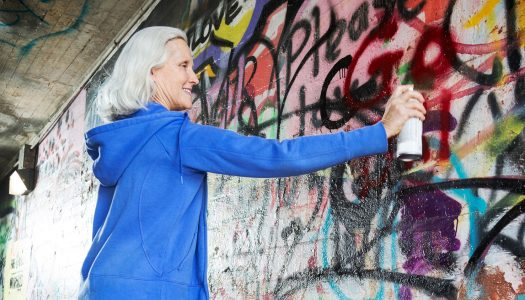 """Graffiti Grandmas"" Show that Hobbies for Women Over 50 Are Evolving"
