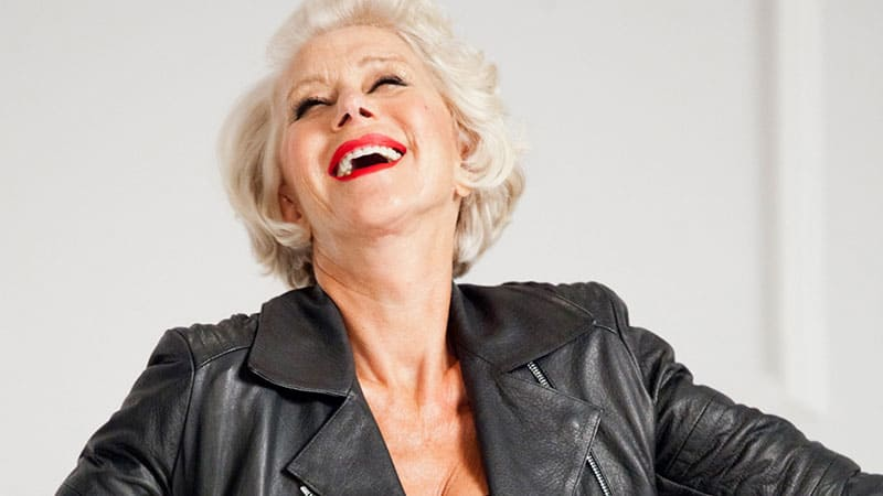 Helen Mirren for L'Oreal
