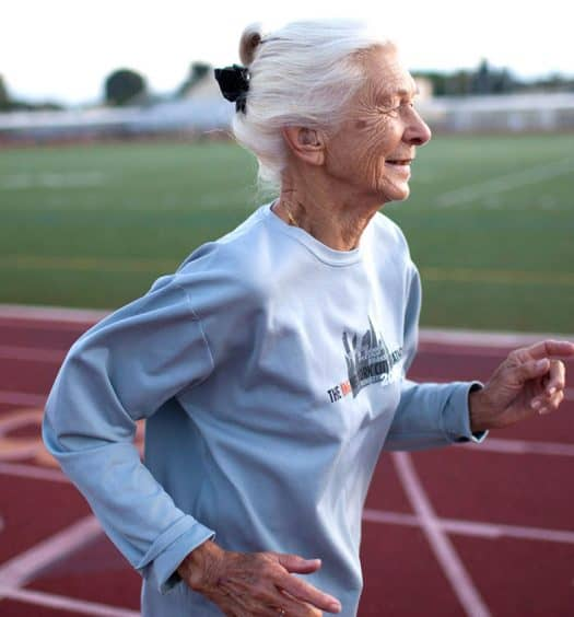 Marathon Runner Joy Johnson