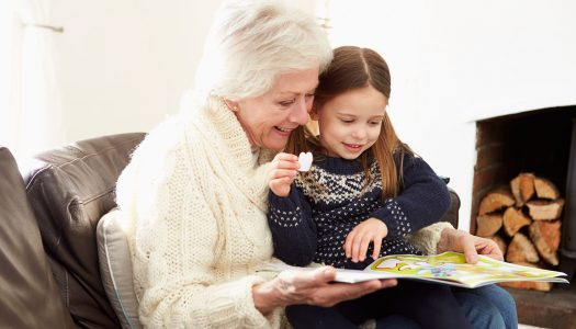 Make Sure You READ When You Read with Your Grandchildren