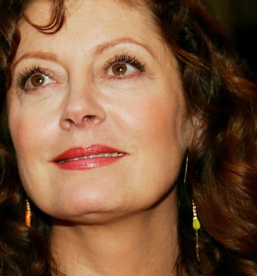 Susan Sarandon - glamour fashion after 60