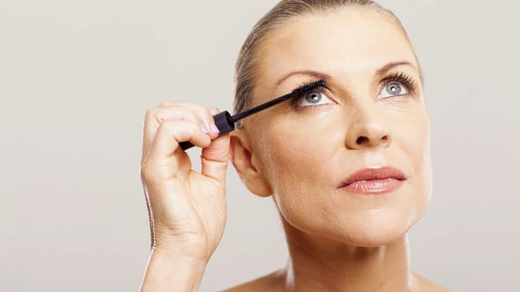 makeup for older women - eye makeup