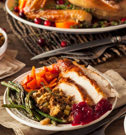 thanksgiving holiday meal
