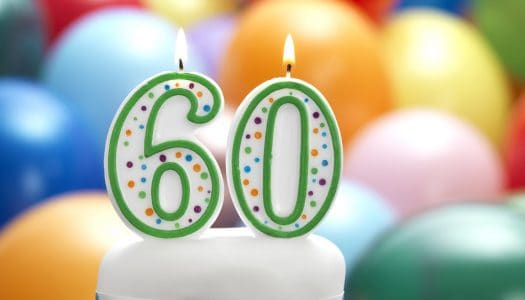 Turning 60 is a Turning Point, Trouble in South Korea and a Yoga DVD Winner