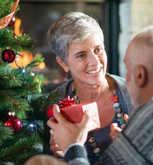senior woman holiday gift guide