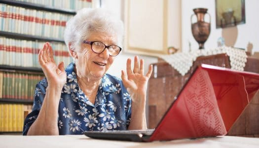 This Polite Grandma Will Be in Charge When the Computers Take Over the World!