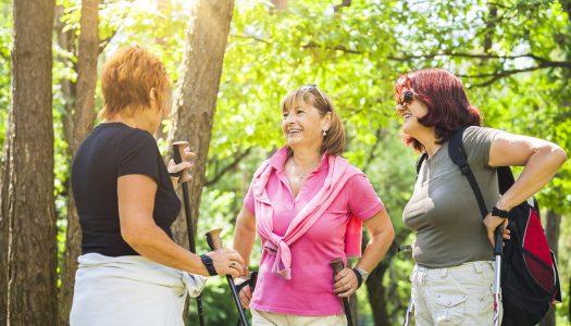 5 Reasons Nordic Pole Walking is Amazing for Older Women
