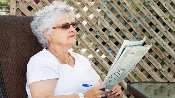 Crossword Puzzles and Alzheimer's