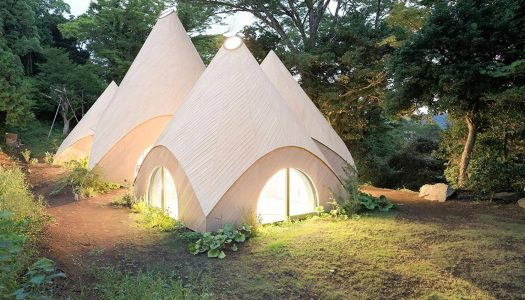 These Japanese Teepees May Be the Coolest Retirement Homes in the World