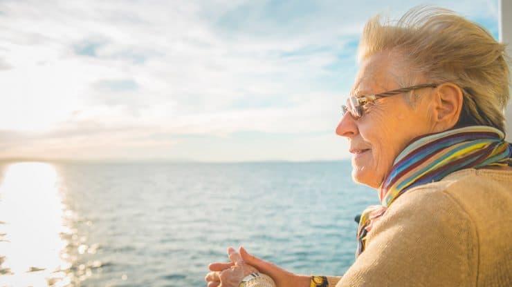 Senior Woman Staycation