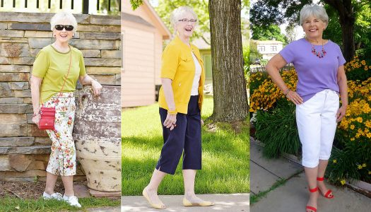 Fashion for Older Women: Capri Pants for the Summer Months