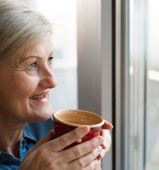 Senior Woman Nostalgia