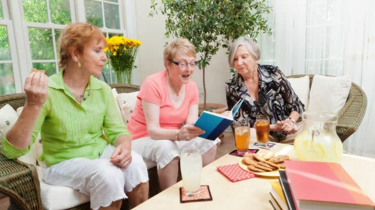 Senior Women Book Club