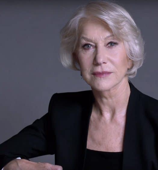 Helen Mirren L'Oreal's Moisturizer