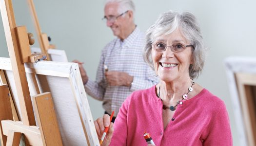 4 Ways to Release Your Inner Artist in Your 60s