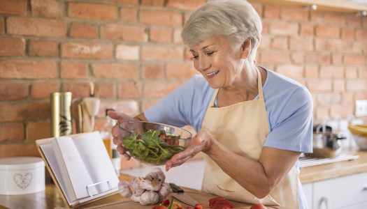 Healthy Eating After 60: Love Your Refrigerator and Barely Like Your Pantry