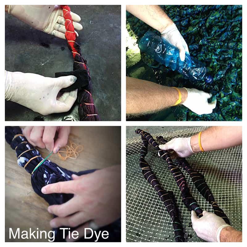 ways to tie dye