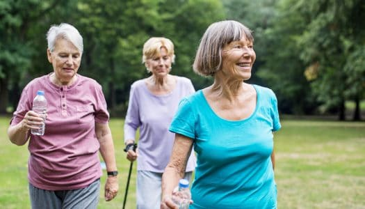 Want to Stay Healthy After 60? You've Got to Move it, Move it!