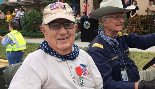 92-Year-Old Battle of the Bulge Survivor Shocked to Be Reunited with Important War Artifact