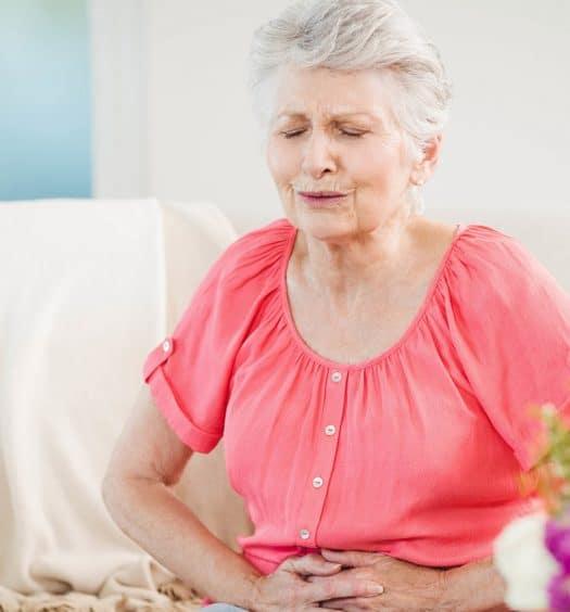 Senior woman health insurance
