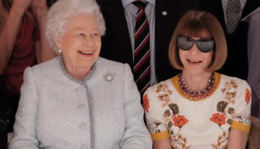 The Queen Shakes Up London Fashion Week with Surprise Visit (Pictures)