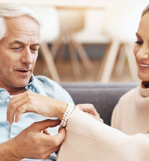 senior woman jewelry