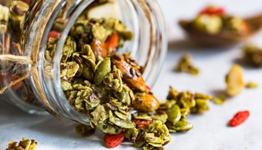 Boost Your Energy with These Delicious, Healthy and 100% Natural Matcha Granola Bars
