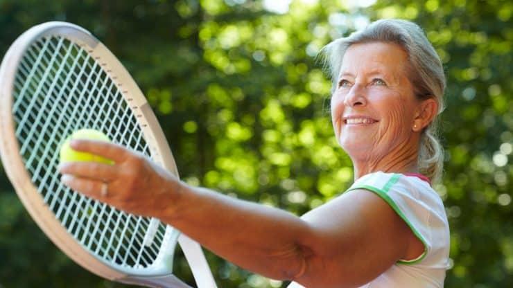 Senior Tennis Games